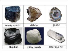 rock classification cards - buy rock set to identify!!