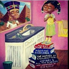 """""""In school the only thing I got taught about African women, is that they were enslaved and took to the Americas. I always got told that the greatest women of the African diaspora were singers, or actors, sports stars or sex symbols. They never told me about the African queen Nefertiti who ruled alongside Akhenaten during the eighteenth dynasty. Nefertiti means, """"The beautiful one has arrived."""" They never told me that societies or civilisations where matriarchy was the dominant system, have…"""