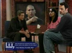 "LOL - a ""Walking Dead"" Maury funny you are NOT the father!"