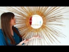 Diy Starburst Mirror Home Decor Diywithjulia