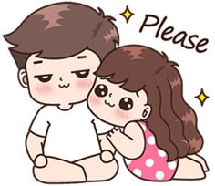 58 Trendy Ideas for funny illustration love pictures Cute Chibi Couple, Love Cartoon Couple, Cute Couple Comics, Cute Love Cartoons, Cute Couple Art, Anime Love Couple, Cute Couples, Cute Love Pictures, Cute Cartoon Pictures