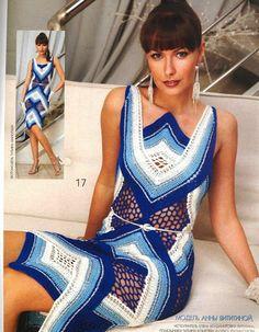 Wunderschönes Sommerkleid häkeln - crochet dress