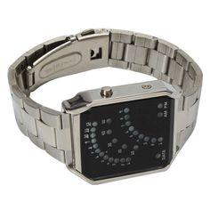 Speedy Metal LEDes óra · A mutatós órák ideje lejárt! Lépj be az idő új  dimenziójába! 29 darab szuper a9b47e9c02