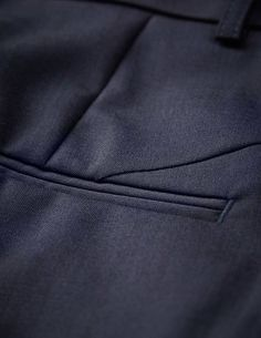 Macie trousers-Macie trousers - Women's midnight blue trousers in wool-stretch. Features two back paspoil pockets, two front pockets and cutlines at back. Regular waist with straight leg. For a complete suit look wear it with Olita blazer Women's Trousers, Trousers Women, Tiger Of Sweden, Slim Legs, Midnight Blue, Pockets, Wool, Suit, Blazer