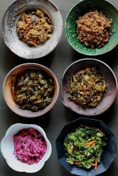 Japanese pickled vegetables  I want to learn how to make these....                   I LOVE them!