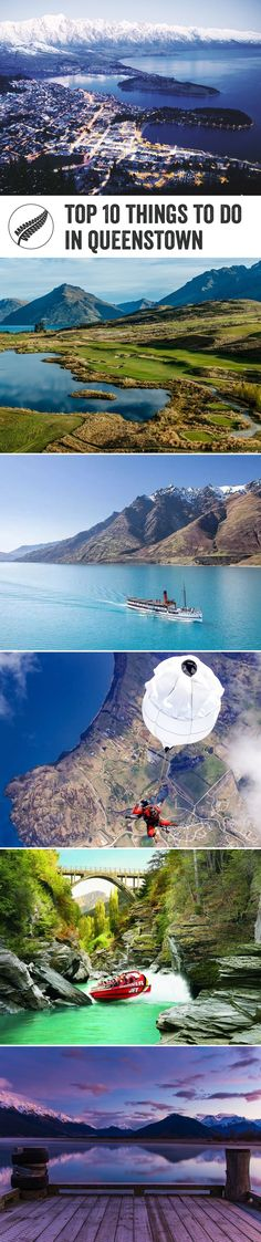 Top 10 things to do in #queenstown