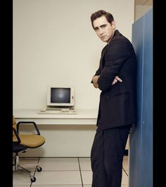Lee Pace in a portrait for AMC's 'Halt and Catch Fire' Season 2 (premieres May 31st at 10pm ET/PT)