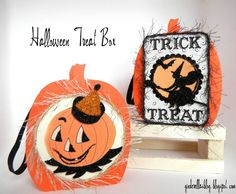 - Halloween Treat Box