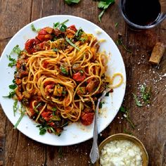 Roasted Ratatouille Pasta - A must-try delicious pasta dish for the summer!
