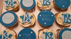 18th Birthday Cupcakes #18thbirthday #cupcakes #cavendishcakes