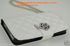 Designer Luxury Classic Quilted Diamante case/Diary iPhone/Case/Wallet /Purse/iPhone Case with Card Holders  Box and And all Tags.A Match to your Lovely Stylish Classic Quilted Handbag.Quilted Collectio2012 .Latest 2012 iPhone Case/Cover 2012 reissue. Padded and Cuishoned Classic Quilted  Ladies iPhone Case/Women's iPhone Case/Girl's iPhone Case.Clutch Purse iPhone Case.Leather Case Smart Phone Cover/Case with flap closure  For iPhone 4S and 4.With a  diamante flower and stainless steel…