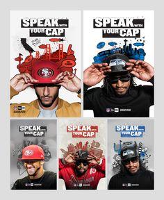 New Era Speak With Your Cap by BASIC  www.basicagency.com