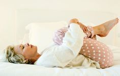 6 Simple Sciatica Stretches You Can Do In Bed http://www.rodalesorganiclife.com/wellbeing/6-simple-sciatica-stretches-you-can-do-in-bed?utm_source=facebook.com