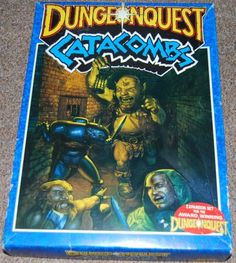 Dungeonquest Catacombs - expansion