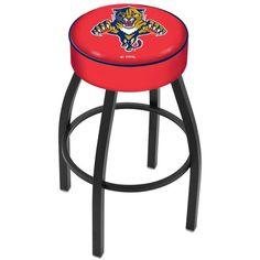 """Florida Panthers 25"""" Wrinkle Base Swivel Bar Stool - $139.00"""