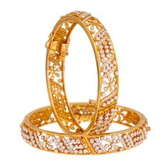 Prince Jewellery Diamond Bangle - Product Code : 3-74799