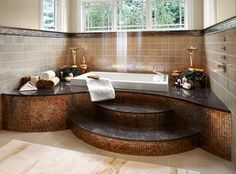 Drop In Tub Design Ideas, Pictures, Remodel, and Decor - page 19