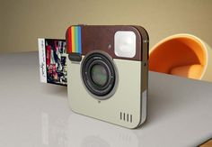 Instagran Polaroid Socialmatic Android, Wi-Fi e + Like Instagram, Photo Instagram, Instagram Printer, Instagram Tips, Box Photo, Things To Think About, Things I Want, Simple Things, Awesome Things