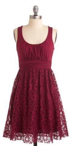 Cranberry lace