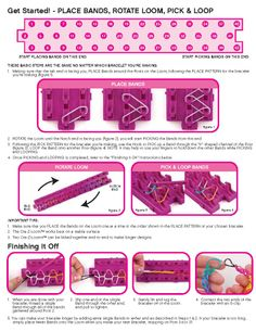 Cra-Z-Loom Instructions - Page 2