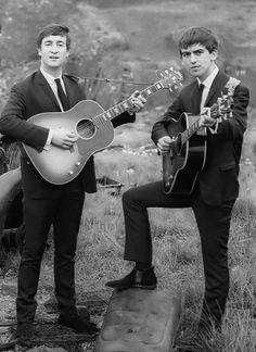 My two favorite Beatles <3