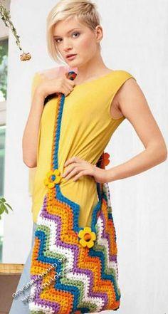 сумки крючок спицы вязание схемы