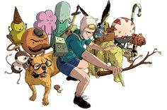 Adventure Time! (versión realista)