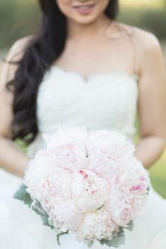 Pink peonies for days: http://www.stylemepretty.com/little-black-book-blog/2015/02/04/romantic-vintage-chic-spring-wedding/ | Photography: Koman - http://komanphotography.com/