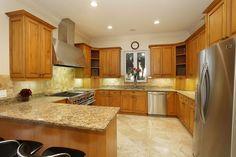Kitchen Has Granite Counter Tops And Backsplash. Lots Of Storage. Coral  GablesGranite ...