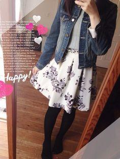 Alexx│Noelaのスカートコーディネート
