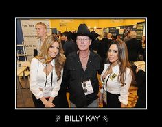 It's gotta' be the hat :) — with Billy Kay.