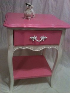 two of these. bedroom. matches the other Barbie pink piece.