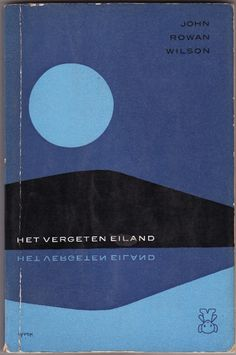 'Het Vergeten Eiland' Cover Design by Dick Bruna