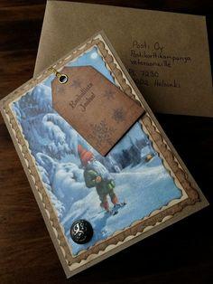 Koivikon Katveessa: Joulukortteja ja kortti veteraanille
