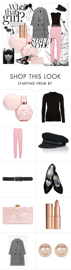 """Walk the Sidewalk"" by vintageallure ❤ liked on Polyvore featuring River Island, TIBI, Lola, M&Co, Yves Saint Laurent, Edie Parker, Charlotte Tilbury and Nordstrom Rack"