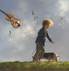 Stringing it along by Jimmy Lawlor - PRINT