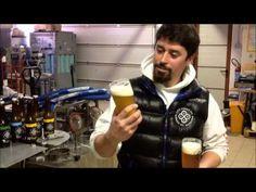 Un brindisi con la birra di Stefano Collé della Chaco di Etroubles