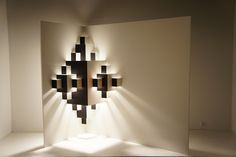 pixel light installation by well well designers