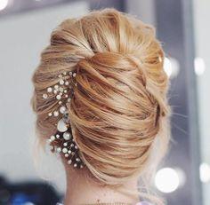 french+twist+bridal+updo