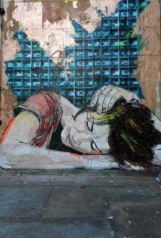 Jana & Js, awesome street art, wall murals, amazing urban art, world's best street artists, free walls, graffiti.