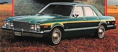 1979 Plymouth Volare  This is the car I drove when I starting driving. Two tone green on the outside. Everything green on the inside - seats, floors, dash, steering wheel. We called it The Green Machine, might have been ugly but it got me and my friends where we wanted to go!
