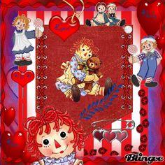 Raggedy Ann & Her Teddy Bear
