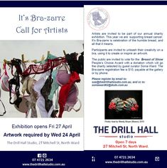 Bra-zarre Call for Artists - Townsville Women Blog