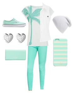 """Minty fresh"" by jiyahfennell1 ❤ liked on Polyvore"