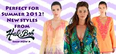 Amazing tunics for summer. Easy, light and fashionable