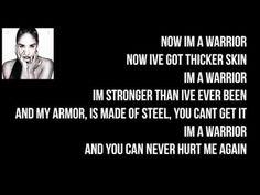 Demi Lovato - Warrior (LYRICS)