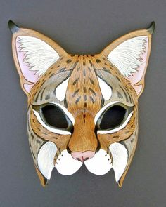 Bobcat Mask by *merimask on deviantART