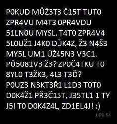 Kto to prečíta je pán - UPO.sk :: únava po obede