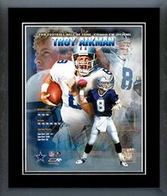 b87de2926 Troy Aikman Framed With double black matting Ready To Hang- Awesome    Beautiful. PSYCHO COWBOYS FANS · DALLAS COWBOYS