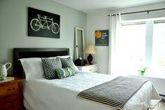 Budget Friendly Modern Farmhouse Master Bedroom Makeover